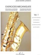 Londeix - Exercises Mecaniques Vol.1