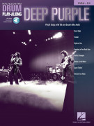 Deep Purple: Drum Play-Along Volume 51 (book/Audio Online)