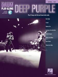 Deep Purple: Drum Play-Along Volume 51 (book/Audio Online)