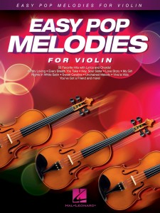 Easy Pop Melodies - For Violin
