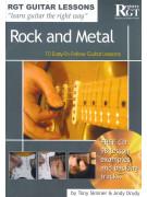 RGT Guitar Lessons Rock & Metal (book/CD)