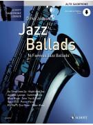 Jazz Ballads For Alto Saxophone (book/Audio Online)