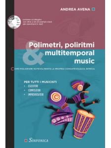Polimetri, Poliritmi & , Multitemporal Music (libro/CD)