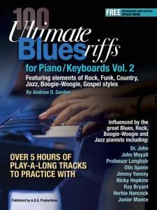 100 Ultimate Blues Riffs for Piano/Keyboard Vol. 2 (Book/MP3/MIDI files)