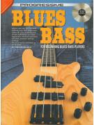 Progressive Blues Bass (book/CD)