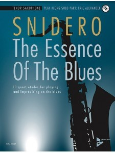 The Essence of the Blues: Tenor Saxophone (book/CD)