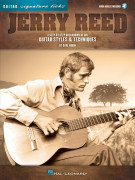 Jerry Reed - Guitar Signature Licks (book/Audio Online)