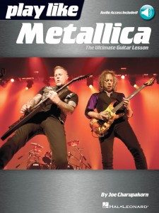 Play like Metallica (book/Audio Online)