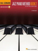Hal Leonard Jazz Piano Method Book 2 (book/Audio Online)