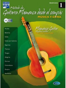 Método de Guitarra Flamenca desde el Compás, 1 (book/CD)