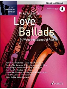 Love Ballads For Tenor Saxophone (book/Audio Online)