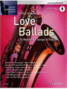 Love Ballads For Alto Saxophone (book/Audio Online)