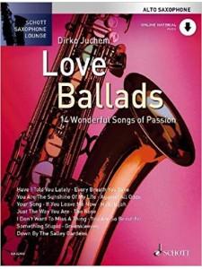 Love Ballads For Alto Saxophone (book/Audio Online)