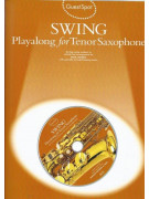 Guest Spot: Swing Playalong For Alto or Tenor Saxophone (book/CD)