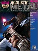 Guitar Play-Along Volume 37: Acoustic Metal (book/CD)